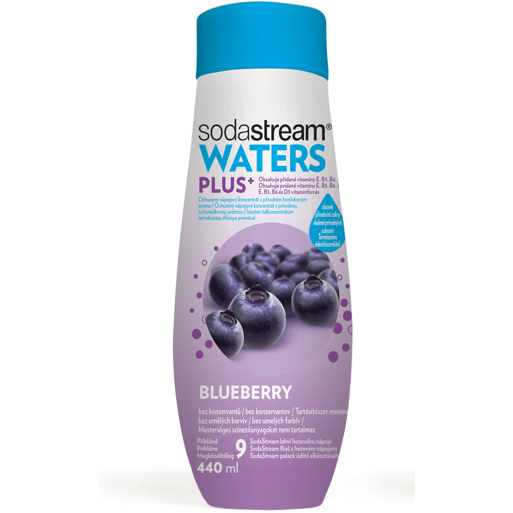 WATERS PLUS Áfonya 440 ml