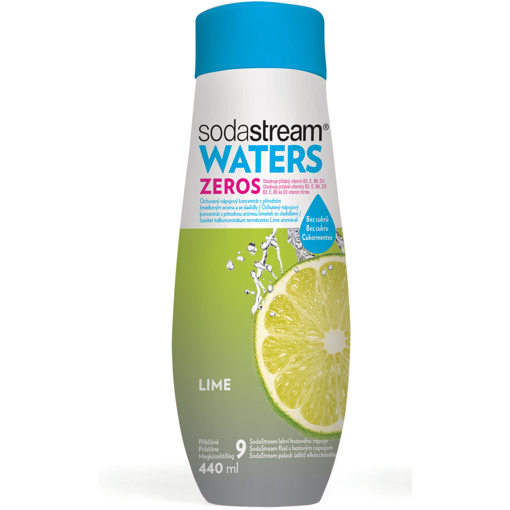 WATERS ZEROS Lime 440 ml